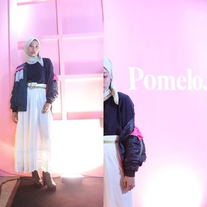 Yesterday's event, attending @pomelofashion Pomelo Fall '18 ✨...Thank you for having me @clozetteid & @pomelofashion 🌸#clozetteid #starclozetter #pomelofall18 #trypomelo #ootd #ootdindo #ootdasean #ootdhijab #hijabootdindo #dailyootd #hijabfashion