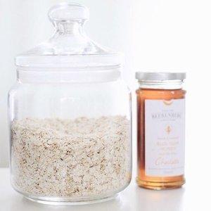 Fav combo: honey+oats, more on blog.__#ClozetteID #DIYbeauty