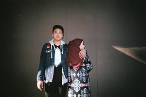 Waktu itu, masih muda 😗_____________#35mm#indo35mm#disposablecamera#fujifilm#clozetteid