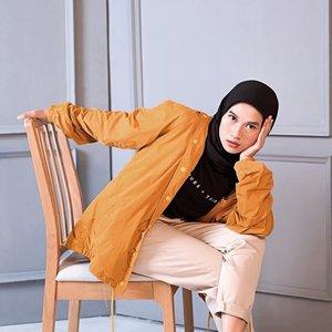 Mba Dian, sekarang pakai hijab?__________________#karincoyootd#hijabmodesty#clozetteid