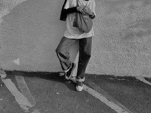Keriweuhan yang dirindukan. Sebel banget sama celana di lipet 🙃 - #clozetteid #karincoyootd