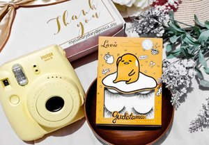 My current favorite lashes from @lavielash because the packaging is so cute! Gudetama 😍😍😍😍 . Check out myculinarydiary.com for more posts!! . . . . . . . #clozetteid #cosmetic #beauty #skincare #makeup #makeupartistjakarta #mua #eyelashextention #weddingku #bridestory  #makeupcourse #lipstick #makeupmafia #maccosmetic #potd #instabuzz #makeupjunkies #makeupgeek #premiumskincare #skincare  #beautycare #instaxindonesia #fujifm #instax #polaroid #gudetama #sanrio #japan