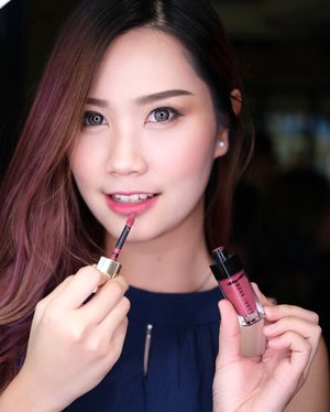"I'm Fan of pink lipstick and @bobbibrownid sure have pretty pink shade that's different from other pink 💕""Strike the Rose"" - Best seller shade from Their newest Luxe lip collection 💋•Anw enjoy FREE gift for 100 person who make purchase in Bobbi Brown Store at Galaxy Mall!!! Further details? See on my insta story~ #bobbibrownid #abellreview #clozetteid #cotd"