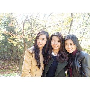 Because 👸�👸�👸� it's better than 👸� • •Good Morning 😊 have a great Sunday 👼� • #photograph #girls #friends #korea #autumn #clozetteID #schoollife #koreanfashion #clozetteID #COTD #instagood #instagood #instalike #igersjp #instamood #holiday #havingfun #enjoy #likeforlike #tagsforlikes #bestoftheday #trip  #explorekorea