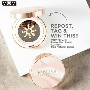 Repost, Tag and Win 🙌🏻 Just follow step above and don't forget to follow @vovmakeupid too~ Until 28 Mei and winner announce on 31 Mei 2017 #VOVMINERALPerfectionMetalCushion • • • • #beautynesiamember #surabayabeautyblogger #instagood #photo #instamood #instadaily #instalike #tagsforlikes #bestoftheday #jj #clozetteID #webstagram #tflers #life #fashion #blogger #cotd #tagsforlikes #beauty #travel #surabaya #GGRep #beautyblogger #cgstreetstyle  #beautybloggerindonesia #beautyenthusiast #korea