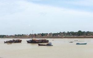 Sungai Batanghari pada suatu siang di Jambi. #ClozetteID #StarClozetter