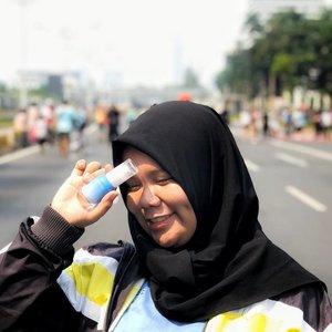 Pagi ini aku zumba bareng teman-teman clozetters dan @laneigeid , seru banget!Oh ya aku juga mau cerita kalo aku lagi kesenengan karena menjadi bagian dari @laneigeid untuk mendonasikan air bersih kepada daerah daerah di Indonesia yanh membutuhkan, kali ini target daerah dari @laneigeid yaitu Tasikmalaya. Semoga dengan adanya kegiatan hari ini, distribusi air bersih di Indonesia semakin merata!#RefillMe2019 #BetterWaterWithLANEIGE #ClozetteID@clozetteid