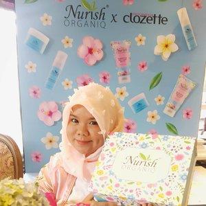 Hari ini aku hadir di launching nya @nurishorganiq_id Produk asal malaysia ini sudah hadir di Indonesia loh, oh ya kalian bisa dapatkan produk produknya di @guardian_id #NurishOrganiqID #RadiateYourTrueNature#NurishOrganiqIDxClozetteID #ClozetteID@clozetteid *btw iya sebengkak (biasanya juga bengkak sih, sebadan badan wkwk, cum yg aku maksud tu ya bengkak kek di foto lah) itu dan setandus itu mukaku, abis dermaroller soalnya, padahal ga boleh makeupan tiga hari dulu kan, yatapi dari pada merah merah yakan, dempulin sekalian wkwk