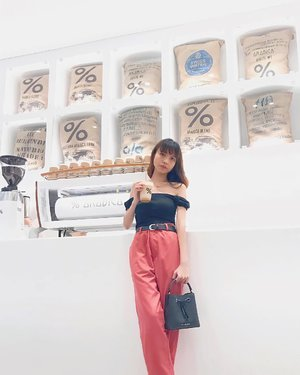 With my fav cafe latte at @arabica.indonesia ✨ ( tap for details ) . . . . . #whatiwore #bloggerstyle #fashion #styleblogger #fashionblogger #ootd #lookbook #ootdindo #ootdinspiration #style #outfit #outfitoftheday #clozetteid