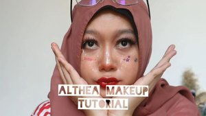 Finally #altheamakeup tutorial is here! I usually don't play around with makeup but trying something different with my face this time is somewhat interesting 🙌 . Products I use:. 🍉 Althea Flawless Creamy Concealer #04 Mocha and #02 Ginger, DIFINITELY YOU MUST PURCHASE SOME I'LL TELL YOU WHY TOMMORROW . 🍉 Althea Eye Palette Sunrise&Moonrise @bclsinclair x @altheakorea, luv luv luv! . 🍉 Althea Watercolor Cream Tint, my fave is marron cream . 🍉 Althea Spotlight Eye Glitter that I don't use according to its function 🤣🤣🤣 . And done! I add some stickers so you could call this as Althea Sticker Makeup Tutorial~ . . Whaddya think? Tommorrow I'll post all #althekorea makeup review on my blog! . . . 📸 Canon EOS M100 🎬 Inshot 🎼 The Chainsmokers ft Coldplay - Something Just Like This remix  #beautycommunity #talkthatmakeup #makeupselfie #dailymakeup #makeupblogger #makeuptalk #makeupandwakeup #makeuplife #makeuplooks #makeupjunkie #makeuphaul #makeuplover #makeuptime #makeupideas #altheakorea #clozetteid