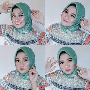 """Ketika bersyukur, apapun yang kita kerjakan terlihat indah. Jadi gak perlu tuh bilang """"akan indah pada waktunya"""" kuncinya satu, bersyukur. Udah itu aja! -re 🌻🌿 Hijab linen by @meily.id... ..#revanisanabella #clozetteid #greenhijab #beautycommunity #beautyrangerid #beautysquad #beautynesiagoviral"""