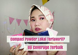 Membandingkan coverage 4 compact powder di bawah 30Ribu-an tanpa Foundation.  https://youtu.be/d1sHOmhK0i8 ada salah satu compact powder yang jadi favorit aku, apakah sama dengan Favorit kamu juga beauties?    #ClozetteID #ClozetteBeauty #Clozetteapp #makeup