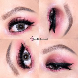 #eotd of yesterday's #makeupkartini 👸🏻Details👇🏻#qlcosmetic Brow Cream & Mascara#mizzu Gradical Eyeshadow 'Ma Cherie'#pixy Lip Cream '03 Classic Red'#coastalscents Ultra Shimmer Palette#paccosmetics Color Festival Eyeshadow 'Angel Eyes'#fanbo Eyeliner#makeovercosmetics Pencil Liner 'Black Jack'Lashes: 3D-15 from AliExpressContacts: #x2softlens I Scream Love 'Hugs'