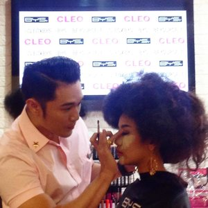 Make up demo by Philips Kwok - Launching #BeYourSelf with @cleo_ind #CleoMyLifeMyWay #CleoxBYS #clozetteid