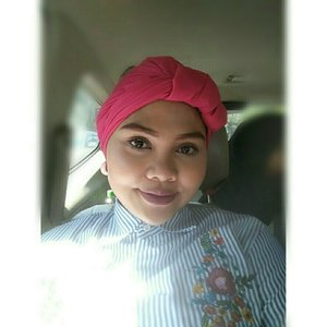 Wearing turban for lebaran Day-1  #turbanstyle #rougemagique #lebaran