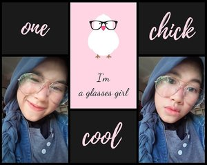 I'm a glasses girl 🤓...#weekendmood #히잡 #셀피 #기분 #구성하다 #selfie #selcaday #naturallook #naturalmakeup #koreanmakeup #happy #photooftheday #clozetteid #imwearing #style #hijabstyle #beauty #everydaymadewell #hijab #mystyle #outfitoftheday #hijaboftheday #glassesstyle #glasses #instastyle #fashion #fashiondaily #selfmade