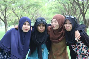 #ClozetteID #MyFamily #SimpleHijab #Natural