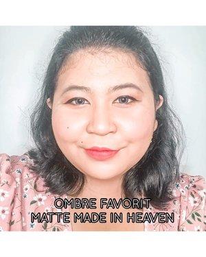Kalau kamu tanya ombre favoritku apa dari liquid lipstick @absolutenewyork_id Matte Made in Heaven adalah Instinct dan Fever. Cantik banget. Bikin bibir keliatan manis. Ya gak?.#lipstickoftheday #lotd #lipstick #lipsoftheday #mattelipstick #mattelips #ombrelips #motd #makeupoftheday #makeup #selfie #selfietime #clozetteid #balibeautyblogger #beautiesquad #bbbxany.#vinaswatches #vinasaysbeauty #vsbxANY