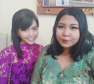Bidadari lewat. 👰  #selfie #weddingday #wedding #bridesmaids #balinesewedding #makeupoftheday #motd #makeup #makeupgeek #clozetteid