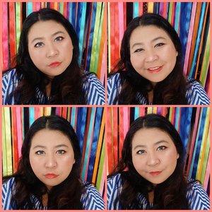 Warnai hidupmu, baru orang lain. Bahagiakan dirimu, baru orang lain. Karena kebahagiaan orang lain bukan tanggung jawabmu. . Udah berasa Mario Teguh belum? . #brushbyvina . #motd #makeup #makeupoftheday #simplemakeup #clozetteid #balilife #ootdindo #plussizeootd #plussizestyle #plussizefashion #plussizemodel #plussize #plussizebali #plussizeindonesia  #plussizebeauty #bigsizeindo #bigsizebali #bigsizemodel #bigsizeindonesia #happy #tipscantik #tipsplussize #plussizetips #ootdfashion #clozetteid #ootdindo #ootdfashion #plussizeandhappy