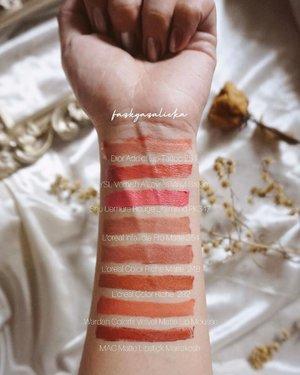 Berapa banyak lipstick yang kamu bawa dalam tas atau makeup pouch sehari-hari? Aku bisa 8 🙂 jadi bisa prepare buat day to night look (sebelum pandemi HAHA) tim warm tone mana suaranya 👋🏻👋🏻👋🏻 biar kalian ngga lupa, jangan lupa save postingan ini 🤍 —— #ClozetteID #YSLBeautyID #DiorMakeup #MACCosmeticsID #ShuuemuraID
