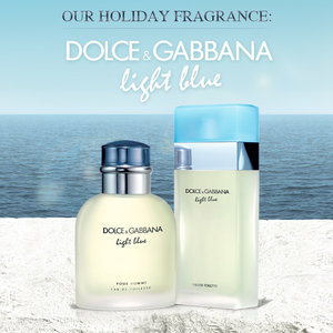 Our Holiday Fragrance: Dolce&Gabbana Light Blue