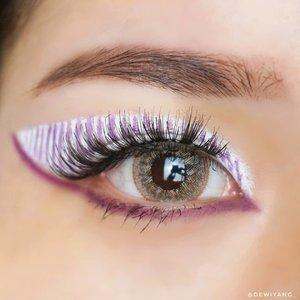 Stripe IIIII@nyxcosmetics_indonesia jumbo eye pencil milk@beautyglazed gorgeous me tray purple shadow@mizzucosmetics true dimensional mascara@x2softlens sanso cappuccino@guele.id slim eyebrow pencil