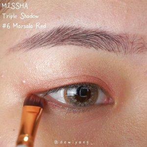 💖.♡ @selfbeauty_co Glam Up Full Coverage Liquid Concealer - 02 Peanut( https://hicharis.net/dewiyang/Jrx )♡ @missha.id Triple Shadow - 6 Marsala Red♡ @jacquelle_official x VG Eyessential Pen - Medium Brown.👀 @x2softlens Sanso Cappuccino.#eyes #eyemakeup #selfbeauty #concealer #charis #x2softlens #x2sanso #clozetteid