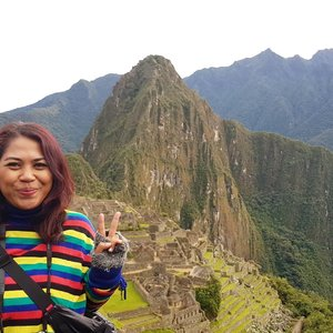 Honestly...mountain is not my fav.place to spend my holiday..maybe the last option but i made my exception for Macchupicchu..😉😉🤗🤗...and I did it!  #travelblogger #traveler #34hours #peru #lima #southamerica #latinamerica #southamericatrip #bucketlist #womantraveler #igerslima #sheisnotlost #discoverperu #discoverlima #passionpassport #iamhere #machupicchu #aquascalientes #cusco #cuzco #cuscoperú #clozetteid