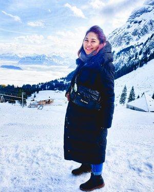 Early winter . #clozetteid #travelling #travelaroundtheworld #pilatus #mountains #switzerland #luzern #dsywashere #dsybrangkatlagi