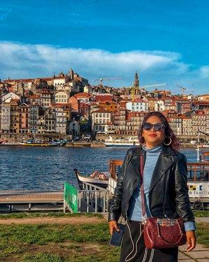 I left my heart in this city . #clozetteid #travelling #portoportugal #porto #travelaroundtheworld #travelgram #dsywashere #dsybrangkatlagi #traveltheworld