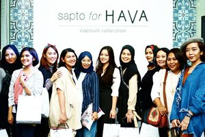 U can sit with us....#saptoforhava  #clozetteid