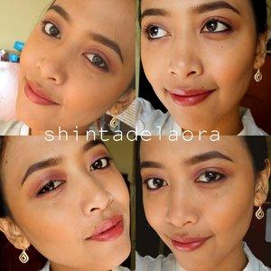 dear @clozetteid , I bring the warmness of natural color for all of you - ecotic #clozettegirl !! #clozetteambassador #selfie #selftaughtmua #smile #motd #fotd #beauty #indonesianbeautyblogger #purple #exotics #white #warm #eotd #photooftheday #byshintadelaora