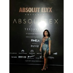 They said taking picture in front of the wall of fame at each event is mandatory. So this is mine. From last night ABSOLUTEX fashion show by Tex Saverio. . #ABSOLUTEX #texsaveriocouture #fimelafashionpridemoment #absolutelyx #texsaverio #fashionshow #runway #couture #1stcouturepresentation #texsaverioprive #trism #absolutextrism #fashionpost #fashionblogger #instafashion #couturefashion #indonesia #indonesiadesigner #clozetteID #starclozetter