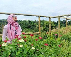 Kamu atau awan sama angkuhnya, walaupun setidaknya kita sama sama berpijak di tanah yang sama. Tapi inilah kenyataan hidup, angkat dagumu dan tetaplah berpijar, karena lemah tidak mampu menopang jiwa.#clozettedaily #clozetteid #beautiful #flower #travelling #travelblogger #traveller #backpacker #sumbar #exploresumbar #kotogadang #sumaterabarat #westsumatera #indonesiaitukece #indonesia #hijabstyle #hijaboutfit
