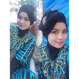 #eidstyle #latepost #eidoutfit #clozetteid #turbanstyle #hijabstyle