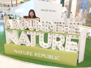 Exploring~ Journey to Nature 😍🤗 . . . #PlayWithNatureRepublic #JourneytoNature #NatureRepublicIndonesia #kbeauty #kbeautyskincare #exo #beauty #skincare #beautyblogger #lifestyleblogger #lifestyle #blogger #Youtuber #contentcreator #clozetteid #natural