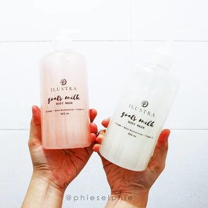 Hot weather? 🌞 Stay hydrated! 💧 Drink lots of water and use a body wash that can cleanse and keep your skin moisturised, just like @ilustraskincare Goats Milk Body Wash 😁 Contains goat's milk 🐐, collagen, and vitamin E that has all the goodness for your skin 💙 . . . . . #sbbxilustra #sbbreview #ilustraskincare #bodywash #goatmilksoap #bodycare #skincare #sbybeautyblogger #blogger #beautyblogger #clozetteid #surabayabeautyblogger #beautybloggersurabaya #sociollabloggernetwork
