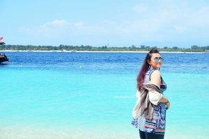 Gili is so good baby😍😍😍😍😍🌊🌊🌊🌊🌊🌅🌅🌅🌅🌅🌅🌴🌴🌴🌴🌴🌴 #lomboktrip #khansamanda #khansamandatraveldiary #clozetteid #clozetteambassador #beautynesiamember #lombok #gilitrawangan #giliisland #beach #beachparty #island #holiday #beautifuldestinations
