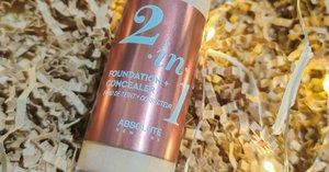 [Review] Absolute New York 2 in 1 Foundation + Concealer Terbaru!