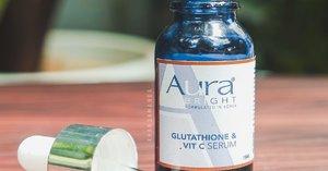 [Review] Aura Bright Glutathione & Vit C Serum Di Kulit Berminyak