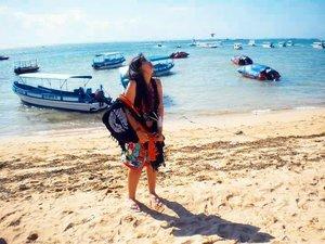 Need vitamin sea🌊🌊🌊 #throwback #bali #tanjungbenoa #balibible #beach #clozetteid #beautynesiamember #khansamanda #beautifuldestinations