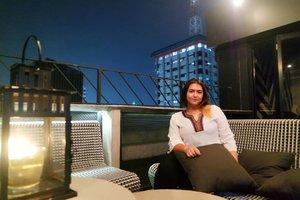 sunday night well spent 💕🎊🎶😘 #clozetteid #khansamanda #bart #sundaynight