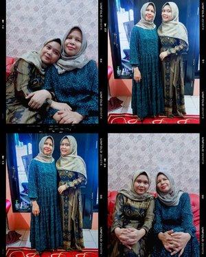 Eid with my love 💞  Pria dirumah Kami susah di ajak fotonya 🙈  #hlraya2020 #heavenlightscustomer #hlladies #inlovewithhl #umrohwithhl #heavenlights #eidwithhl #evidirumahaja #clozette #clozetteid #moment #foto #family