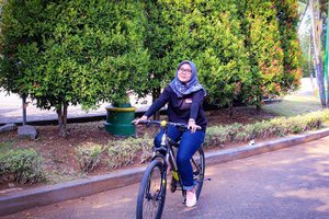 Kangen deh main sepeda lagi 🚲🚲 ___________#Clozetteid #holiday #weekend #outing #saturday #bycicle #evidibogor #workout #missmoment #moment #ootd #hotd
