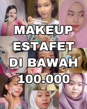 "Heyo beauties, you're beautiful just the way you are! 🥺💛⁣⁣⁣⁣Di #CollabBarengCisty kali ini, aku dan temen-temen online lainnya bikin makeup tutorial pakai produk yang harganya di bawah Rp100.000. Intinya, cantik gak harus mahal kok—yang penting sesuai kebutuhan aja! 😉⁣⁣⁣⁣Cantik itu bukan tentang fisik—tapi lebih dalam dari itu, cantik juga tentang mental dan emosi. ⁣⁣⁣⁣Product details:⁣⁣🌈 @christyrsm: Emina Face Wash (12.500)⁣⁣🌈 @afia.zk: Nivea White Makeup Starter 2 in 1 Moisturizing Day Serum (48.000)⁣⁣🌈 @drealstella: L'ORÉAL UV Perfect Sunscreen Skin Care SPF 50 / PA++++ 30ml ""Super Aqua Essence"" (73.800)⁣⁣🌈 @kanialarasati: Wardah Lightening BB Cream Natural (49.500)⁣⁣🌈 @g.intanparamitha: Emina Bright Stuff Loose Powder (34.000)⁣⁣🌈 @nabilasukmawatii: Etude House Drawing Eyebrow Dark Brown (35.000) ⁣⁣🌈 @karennatl_: Eyeshadow Jaclym hill (Rp.70.000)⁣⁣🌈 @gabrieleangelaa: Eyeliner YOU  The Gold One Drama Queen ( 89.000 )⁣⁣🌈 @syafira.aubree: maskara wardah (60.000)⁣⁣🌈 @sharenkowaas: Madam Gie Sweet Cheek Blush 02 (18.000)⁣⁣🌈 @anandanftrn: Emina Magic Potion Shade 05 Summer (46.000)⁣⁣⁣⁣🎵 Girl in The Mirror - Sophia Grace⁣⁣⁣⁣#ivgbeauty #makeupremaja #makeupnatural #cchannelbeautyid #cchannelfellas #makeuplokal #makeupmurah #makeuptutorial #wakeupandmakeup #tutorialmakeupnatural #beautyvloggerindonesia #tampilcantik #tutorialmakeuplg #makeupfresh #makeupsimple #makeupsimpleandnatural #clozetteid #indobeautysquad #makeuplebaran"