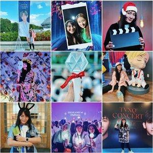 My best nine on Instagram. Baru sadar ini semuanya berkaitan sama KOREA HAHAHAHAHA! Foto pertama adalah konser BTS di Seoul. Foto kedua bareng @reveramess_ pas promo #FilmBEBAS. Foto ketiga adalah foto yang terakhir aku upload mengenai unboxing Army Kit dan Natal bersama Bangtan. 🤣Foto keempat di pameran #ARTEXBIHITIONFORBTS. Foto kelima konser EXO di Singapore. Foto keenam di #HouseOfBTS, Seoul. Foto ketujuh megang lightstick Kpop idol group. Foto kedelapan di konser EXO bersama @futriana dan @innadrinna. Foto terakhir di konser TVXQ. Semuanya berbau Korea. 🇰🇷Kalau tahun lalu fotonya kebanyakan sendiri dan lagi traveling, kalau yang sekarang tetap foto sendiri dan traveling, tapi kebanyakan berhubungan dengan Korea.Gak nyangka tahun 2019 aku jadi sangat Kekoreaan, karena sebelumnya lebih ke Jejepangan. 😝Udah pada nyobain best nine ini belom? Aku bikinnya di topnine.co, tinggal masukin username aja. Kalau mau fotonya, masukin email, nanti bakal dikirim ke email. Selamat mencoba. ^^#mybestnine #bestnine2019 #bestnineofinstagram #bestnineofinstagram2019 #bestnine2019instagram #clozetteID #instadaily #dailyphoto #kpop