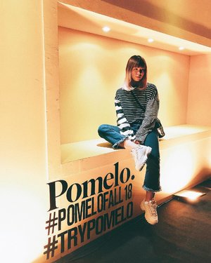 Yeay! I was attending @pomelofashion Fall '18 collection launching earlier ✨ You can see more of the collection on my instastories 🤗 . . . #clozetteid @clozetteid #PomeloFall18 #trypomelo #fashionblogger #styleblogger #ootd #outfitoftheday #fashion #pomelo #lookbook #styleinspo #패션스타그램 #패션 #오오티디 #스트릿패션