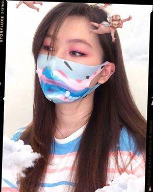 Emang suka eye makeup, skrg makin2 pengen ditekanin belajar karna kalo pake masker yang keliatan mata doang 🥺 #japobsMOTDTrus takut deh lama2 malah jadi koleksi masker gara2 diliat2 pada ngeluarin masker kain gemesss ✨...#clozetteid #indobeautygram #indobeautysquad #ivgbeauty #makeuplook #maskmakeup #tampilcantik #eyemakeup #eyelook #eotd #makeupaddict #beautybloggers #뷰티스타그램