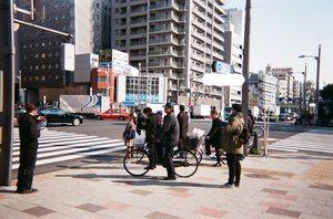 A fine morning near Tsukiji Fish Market #35mm #filmisnotdead #tokyo . . . #clozetteid #ggrep #japanloverme #japan #ilovejapan #BigDreamerInJapan #filmphotography #disposablecamera #streetphotography #travelblogger #travelblog #japantravel #travel #abmtravelbug #exploretheglobe #旅行 #�京 #�본 #�쿄여행 #여행스타그램 #여행